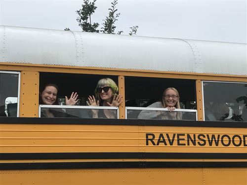 teachers on the ravenswood bus.